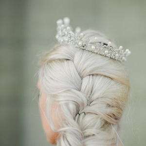 Pearl & Diamante Bridal Tiara