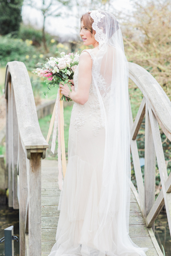 Lace Edged Bridal Veil