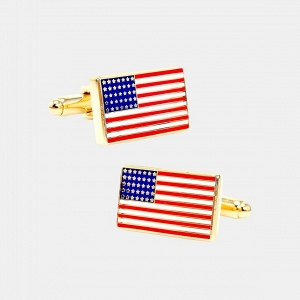 'American Flag' Cuff Links