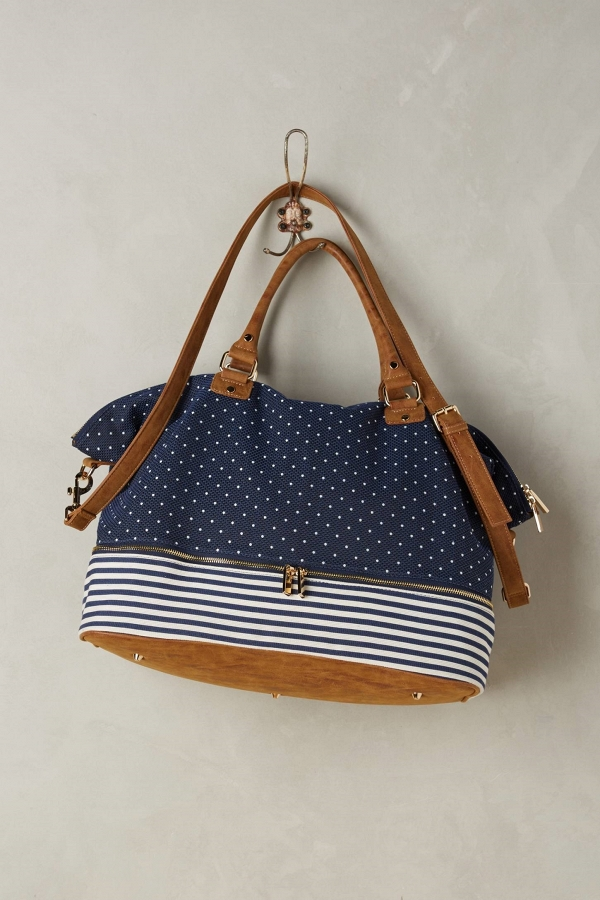 Anthropologie 'Merrimon' Nautical Weekender Bag