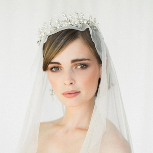 Aquarelle Bridal Tiara from Edera Jewelry