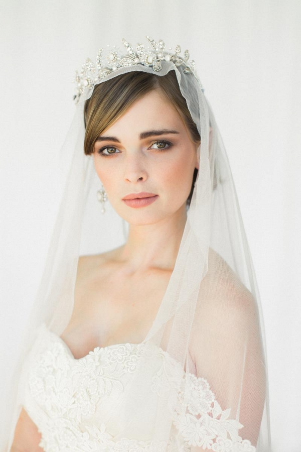 Aquarelle Bridal Tiara from Edera Jewelry