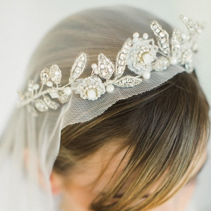 Aquarelle Crystal & Opal Bridal Tiara
