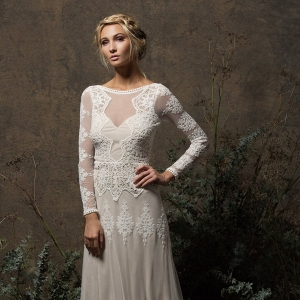 Aurora Lace Bohemian Wedding Dress