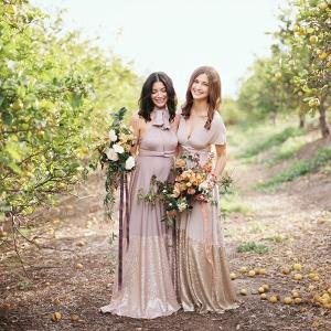 Bella Luna Sequin Dipped Mismatched Bridesmaid Dresses