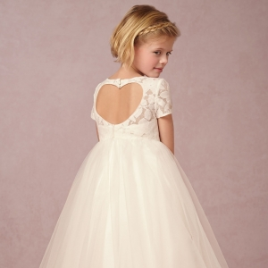 BHLDN 'Portia' Flower Girl Dress in Ivory