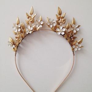 Bichette Floral Bridal Tiara