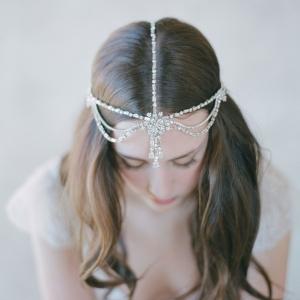 Boho Bridal Rhinestone Hair Accessory - Style 503 by Twigs & Honey