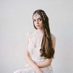 Bohemian Bridal Hair Accessory