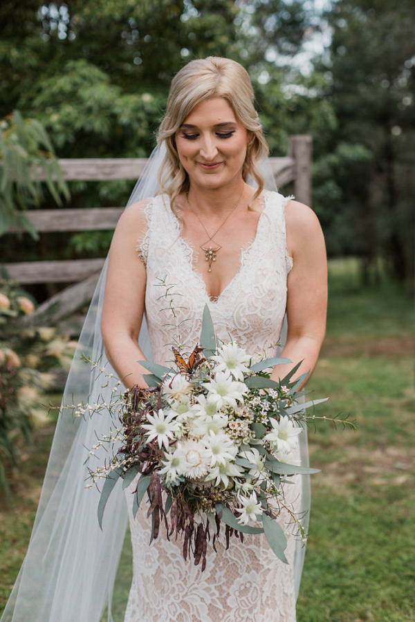 Australian Native Greenery Bridal Bouquet