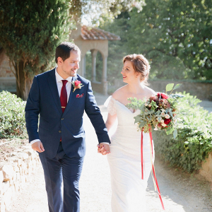 Tuscany elopement