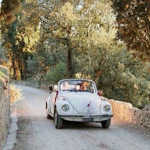 VW Beetle getaway car