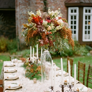 Lavish Tall Floral Wedding Centerpiece