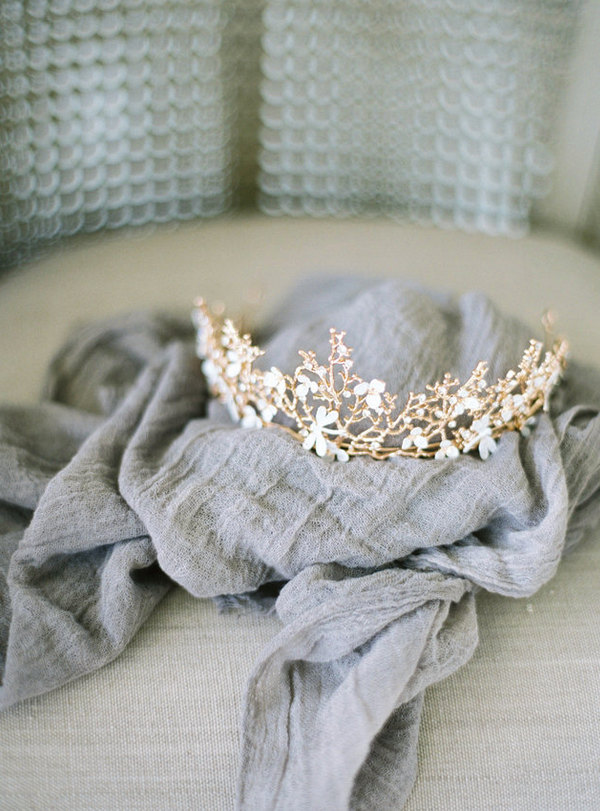 Bridal Crown Headpiece