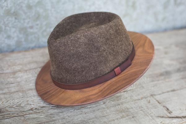 Brown Fedora Hat