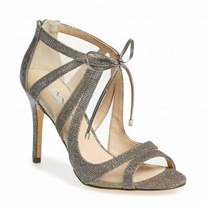 Nina 'Cherie' Illusion Sandal Silver