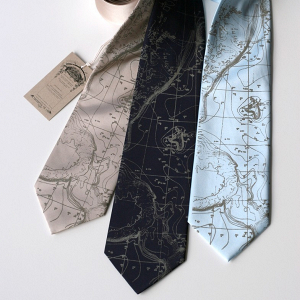 Contour Map Necktie