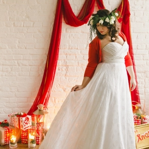 Holiday Bride & Wedding Ceremony Decor