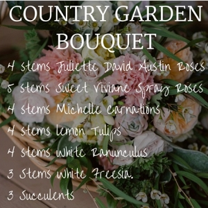 Country Garden Bouquet Recipe