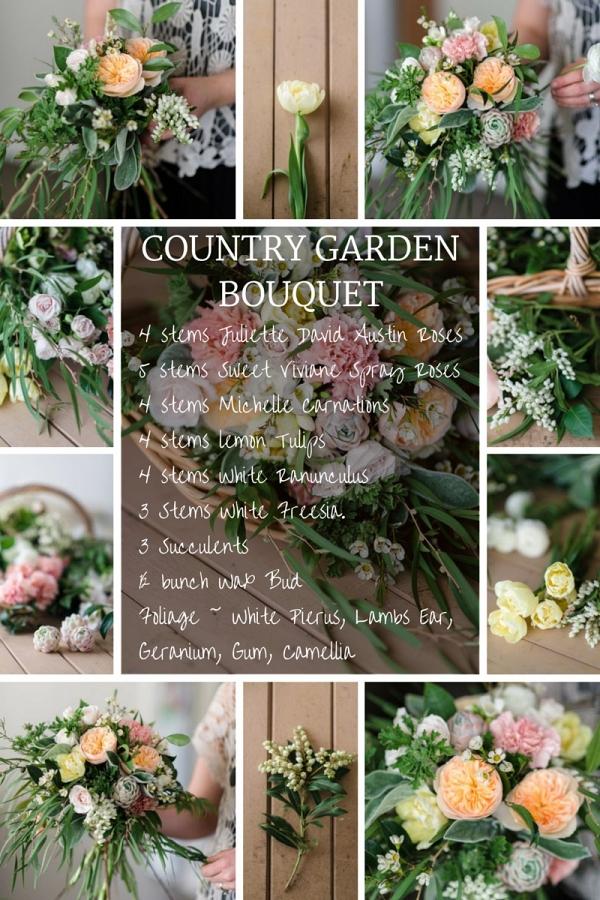 Country Garden Bouquet Recipe