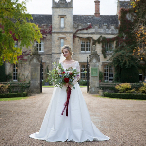 English manor wedding