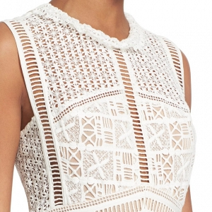 Crochet Lace Sleeveless Dress