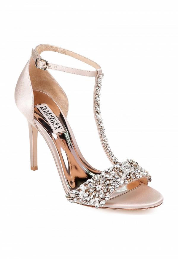 Badgley Mischka T Strap Sandal