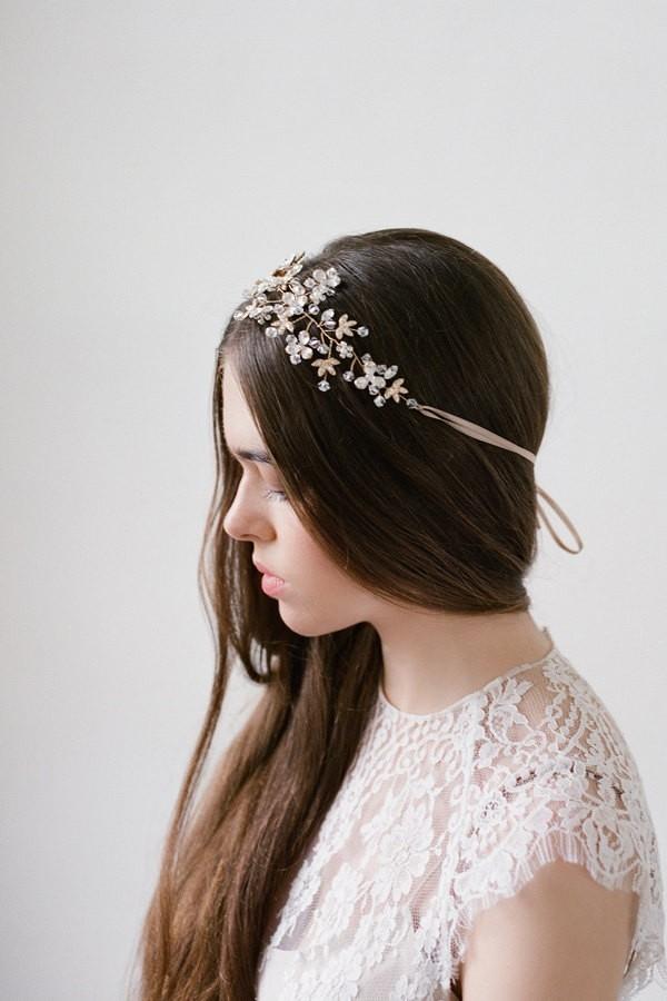 Delphine Crystal Headpiece by Bride La Boheme Photography - Lana Ivanova