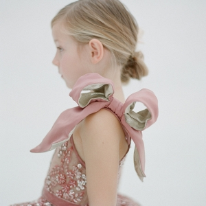Doloris Petunia Katy Flower Girl Dress