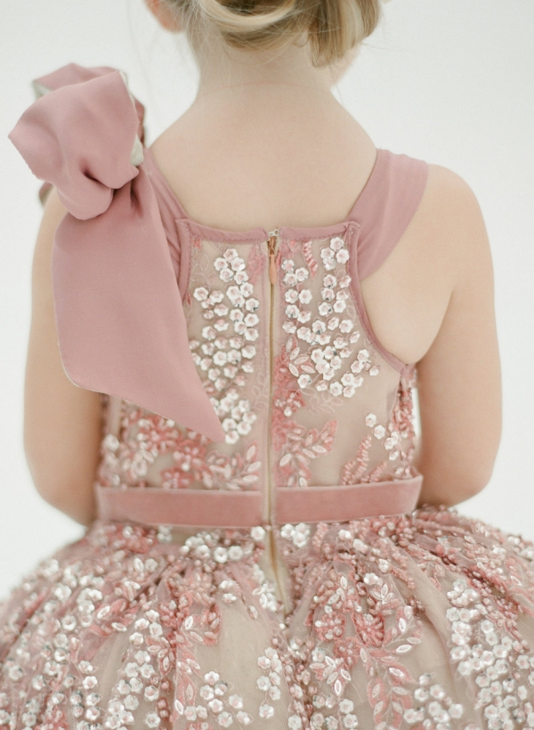 Doloris Petunia Katy Flower Girl Dress