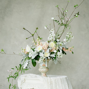 Fine Art Vintage Spring Wedding Flowers