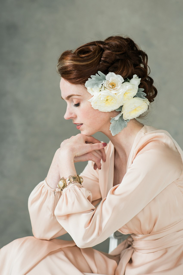 Fine Art Spring Bridal look