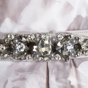 Detachable Jeweled Belt