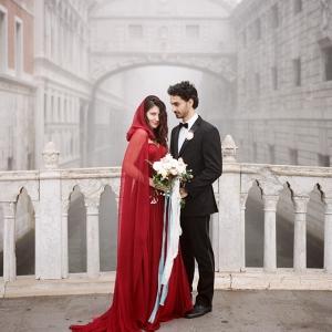 Venice Elopement Bride & Groom