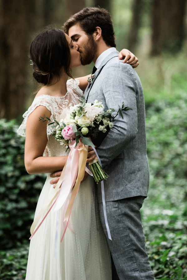 Romantic Woodland Elopement