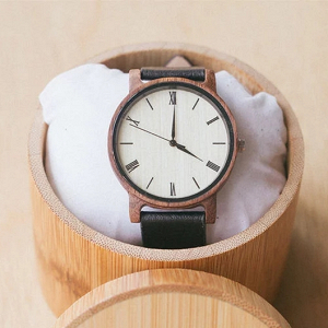 Engraved Wood Watch Groomsman Gift