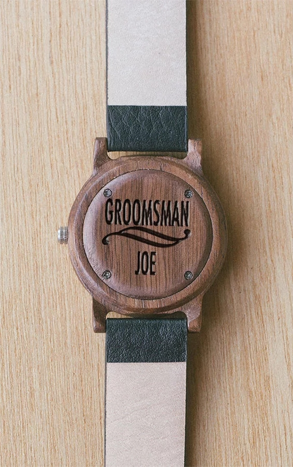 Groomsman Wood Watch