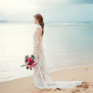 Ethereal Beach Bride