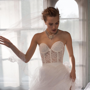 Sweetheart Lace Bridal Corset