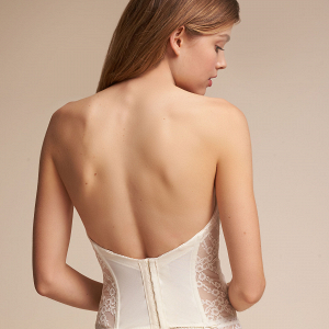 Filippa Lace Bridal Corset Back