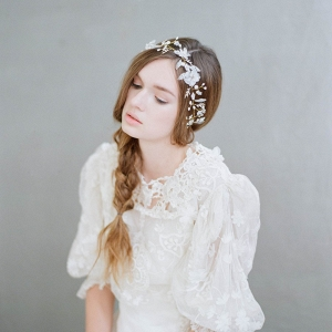 Flora Mist Bridal Headpiece