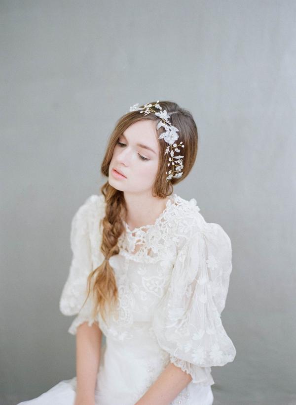 Flora Mist Bridal Headpiece