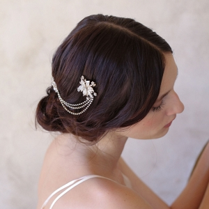 Vintage Floral Bridal Headpiece