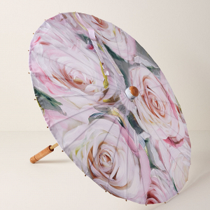 Floral Bridesmaid Parasol