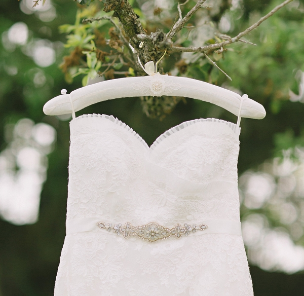 Floral Wedding Dress Hanger