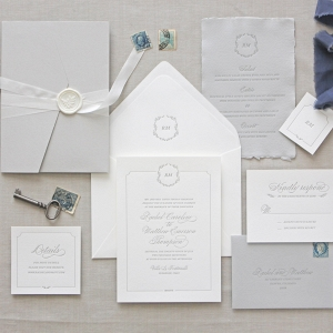 'Florence' Letterpress Wedding Stationery Suite
