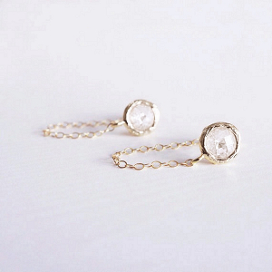 Minimalist Chain Earrings