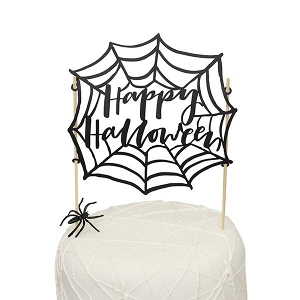 Happy Halloween Cake Topper