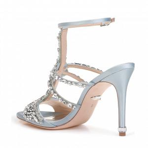 'Hughes' Crystal Embellished Bridal Shoes