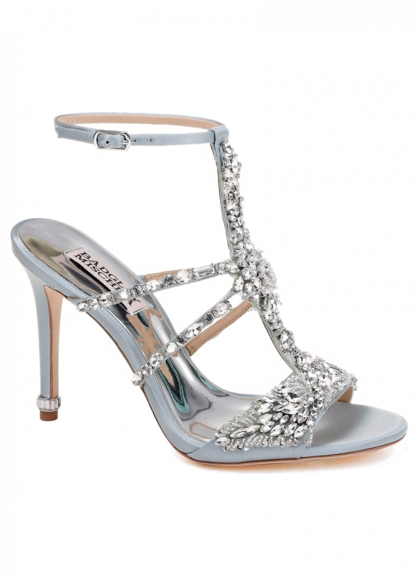 'Hughes' Crystal Embellished Bridal Shoes